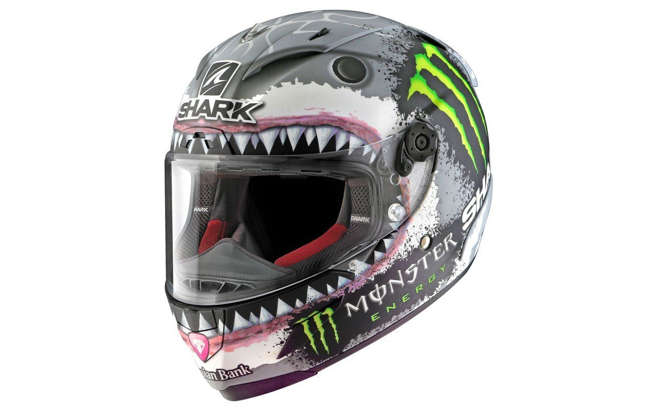 Shark Jorge Lorenzo Race-R Pro White Shark