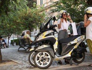 Yamaha Zig Zag Scooter Sharing
