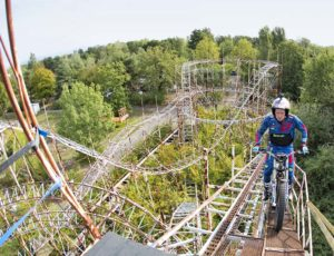 Trial sulle montagne russe
