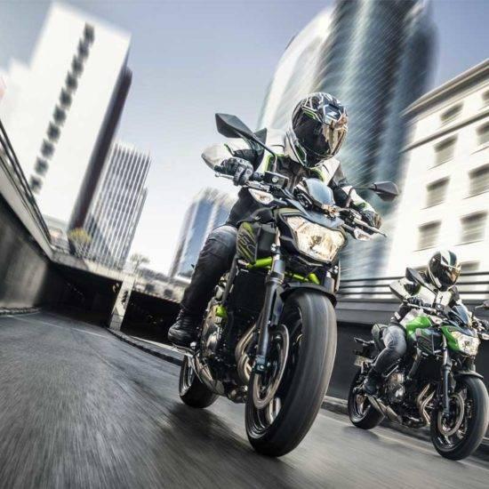 Kawasaki svela le nuove colorazioni dei modelli 2019