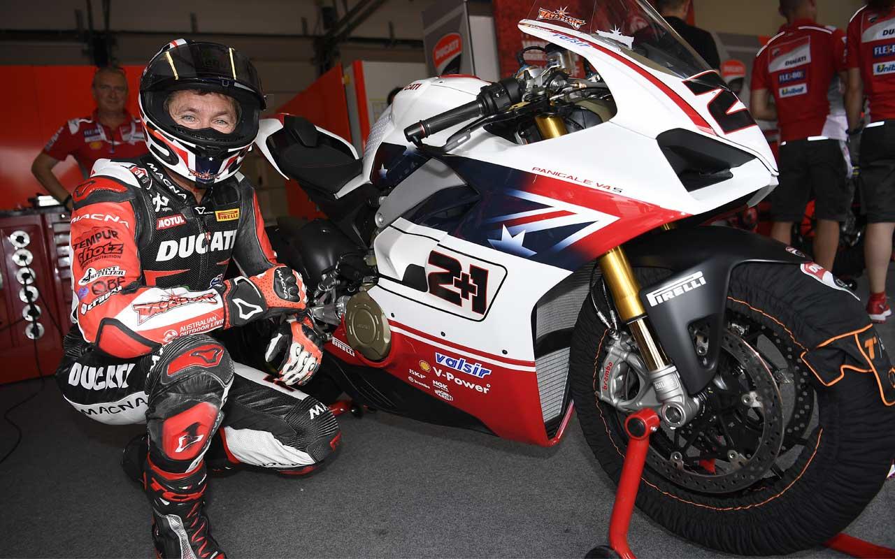 La Ducati di Troy Bayliss