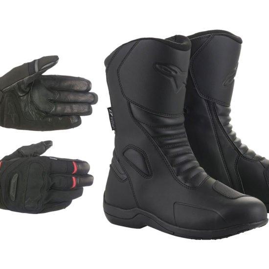 Alpinestars Primer Drystar Glove e Origin Drystar Boot