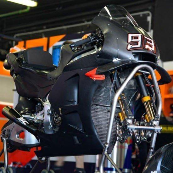 quanti km durano i componenti MotoGP?