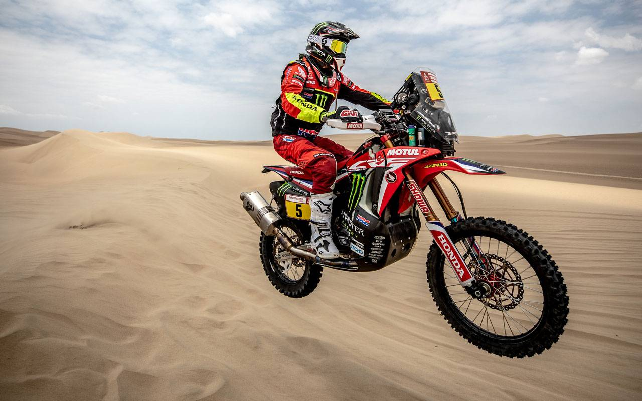 dakar 2019 1 tappa la honda di barreda conquista la vittoria. Black Bedroom Furniture Sets. Home Design Ideas