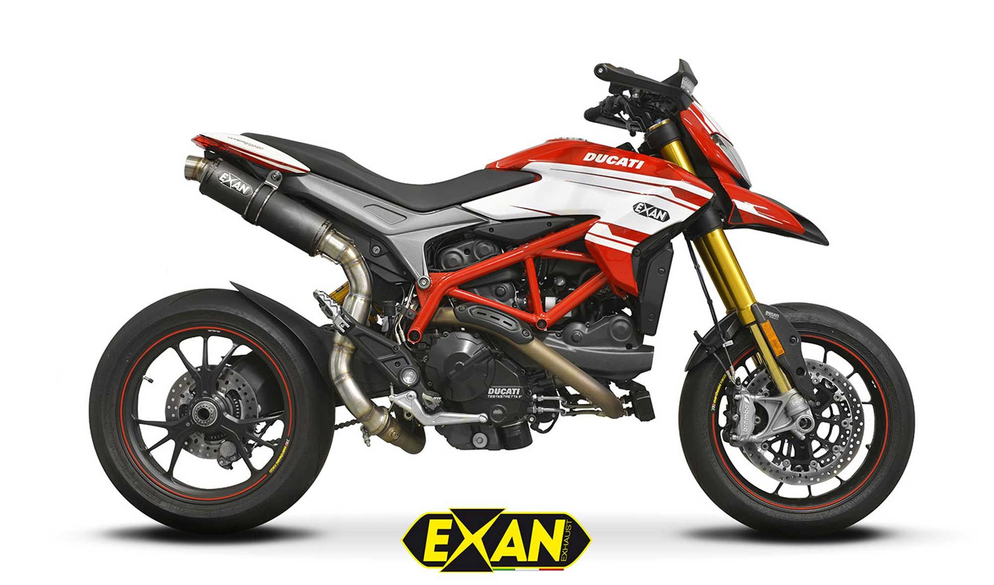 Scarichi Exan per la Ducati Hypermotard 939 e Hyperstrada 939