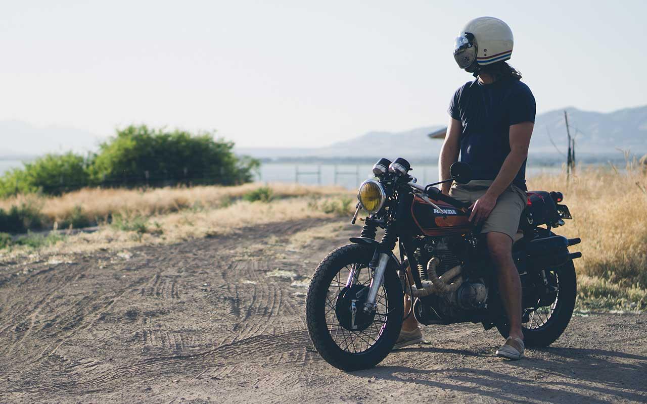 abbigliamento in moto d'estate
