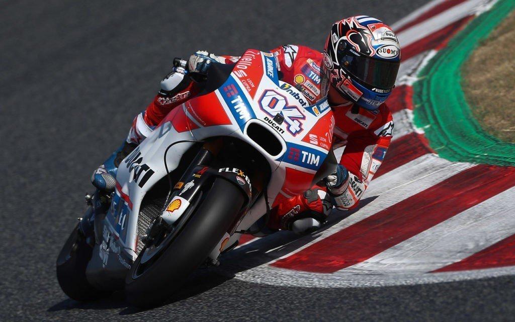 Test MotoGP a Barcellona