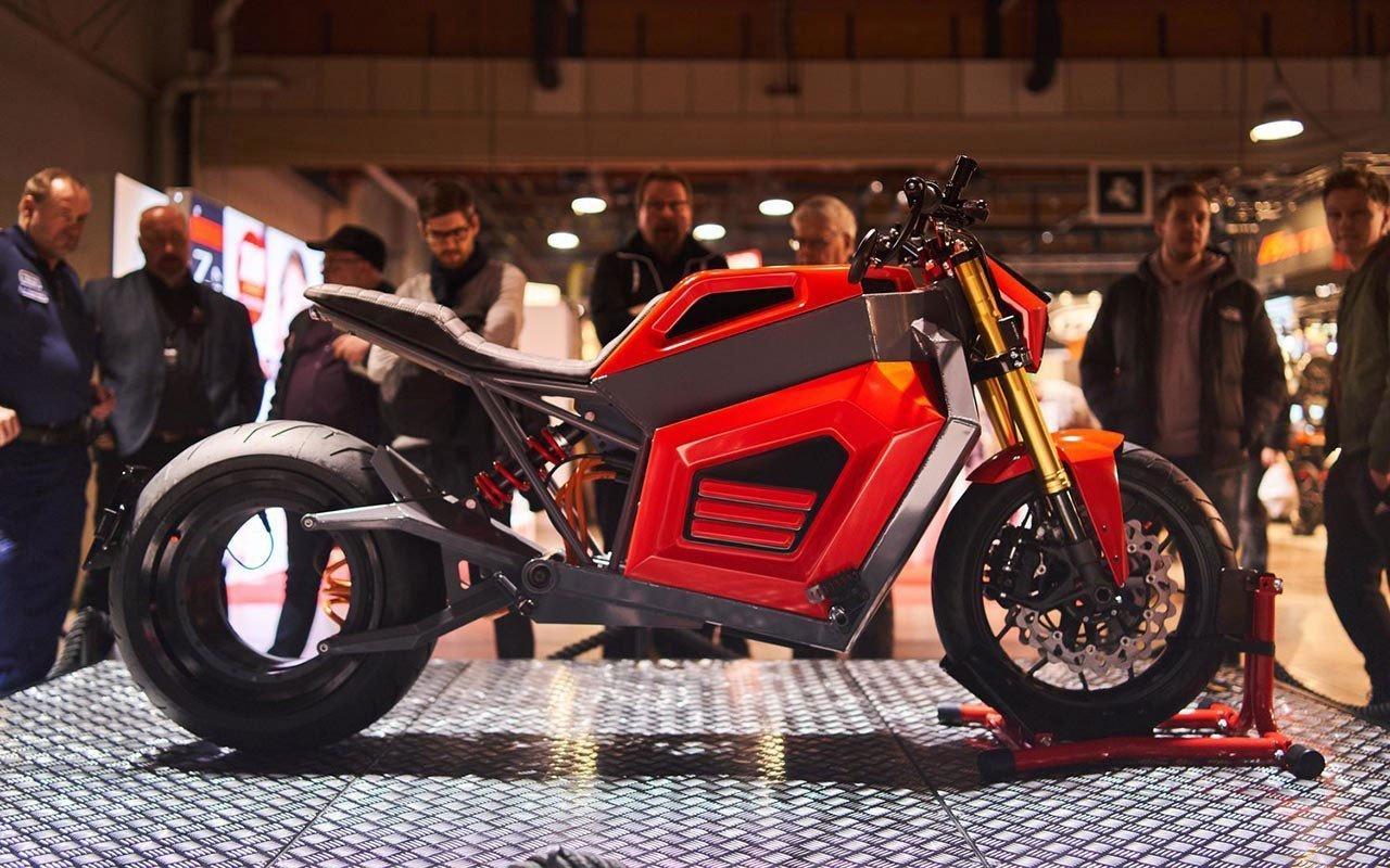 moto elettrica RMK E2