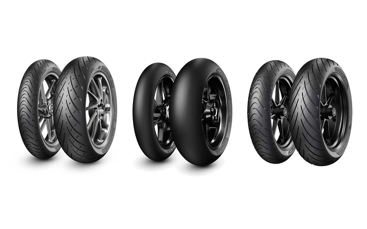 4 nuovi pneumatici Metzeler