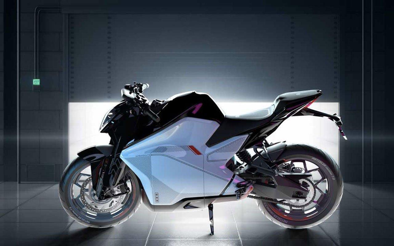 Sportiva elettrica Ultraviolette F77