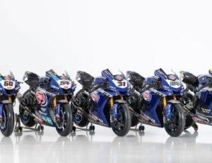 5 Yamaha R1 nella Superbike 2020