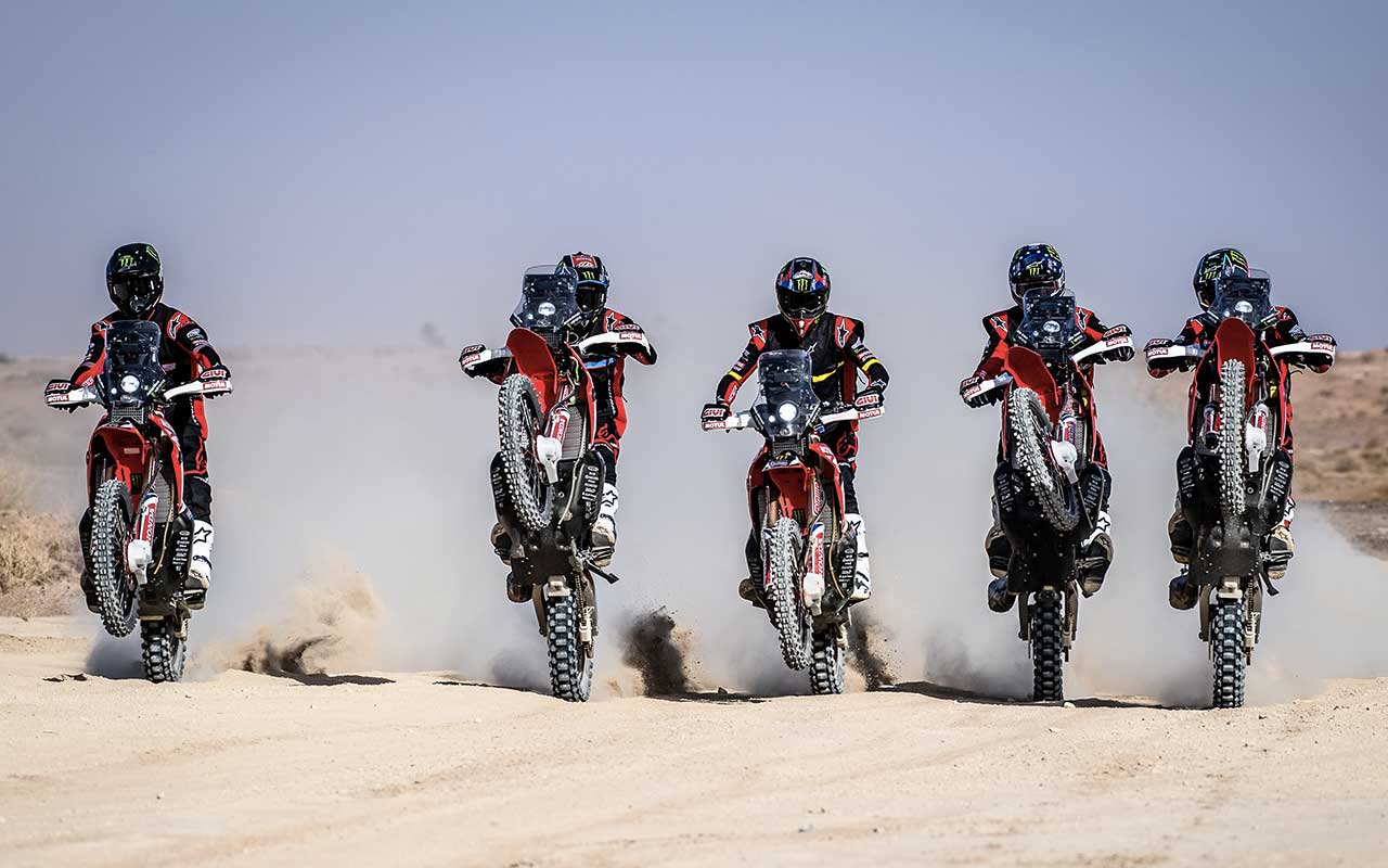 Dakar 2020 in TV