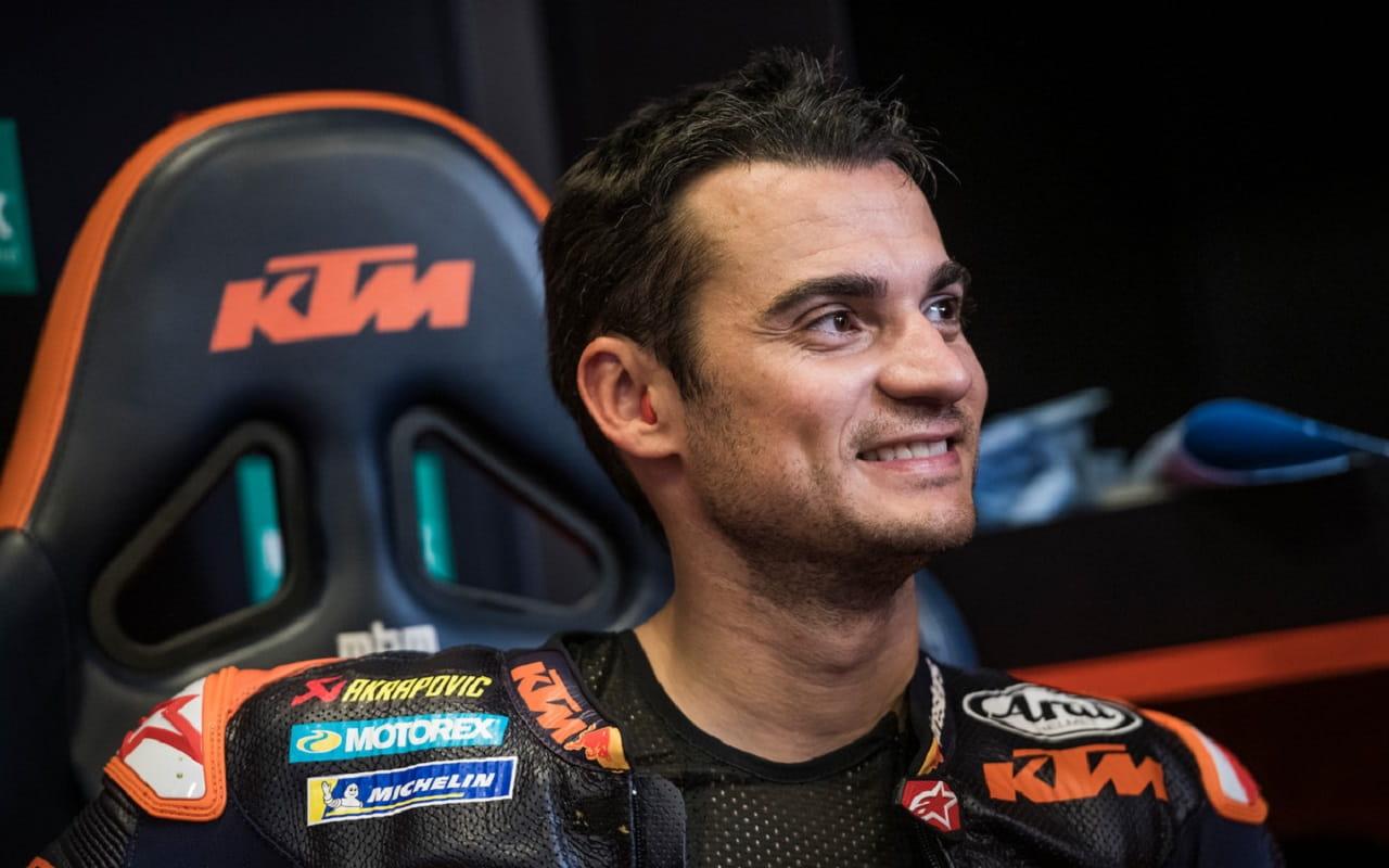 Dani Pedrosa collaudatore KTM