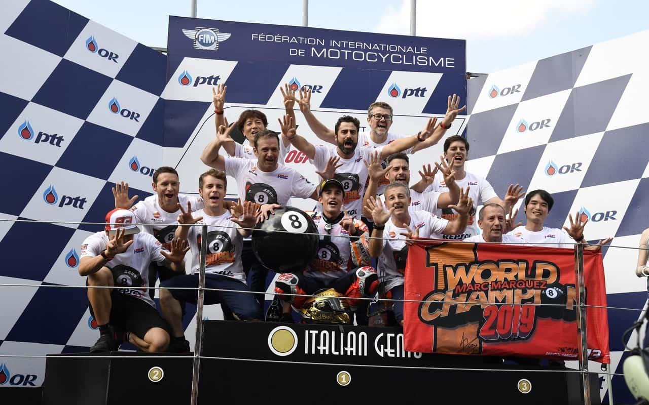 Honda e Marquez rinnovano