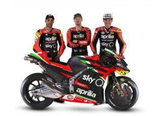 Presentazione Aprilia MotoGP 2020