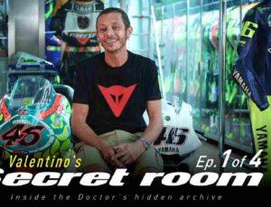 Valentino Rossi Secret Room