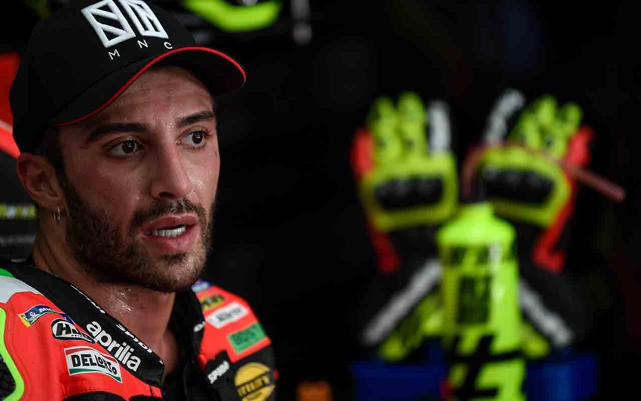 Andrea Iannone su Ducati