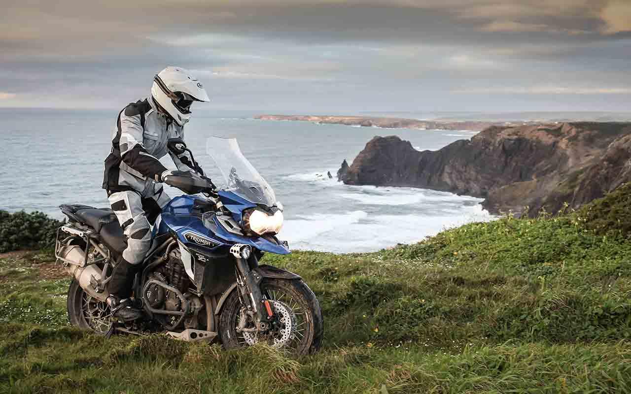 viaggio in moto in primavera