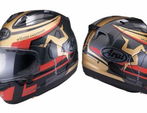 Arai RX-7V TT Isle of Man