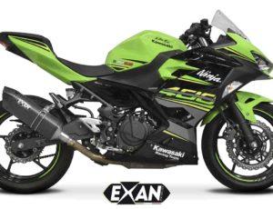 EXAN per Kawasaki Ninja 400