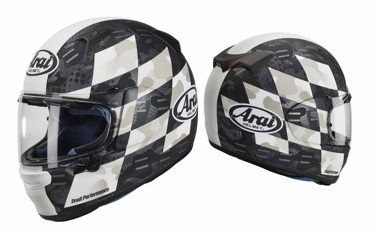 Arai Profile-V Patch White